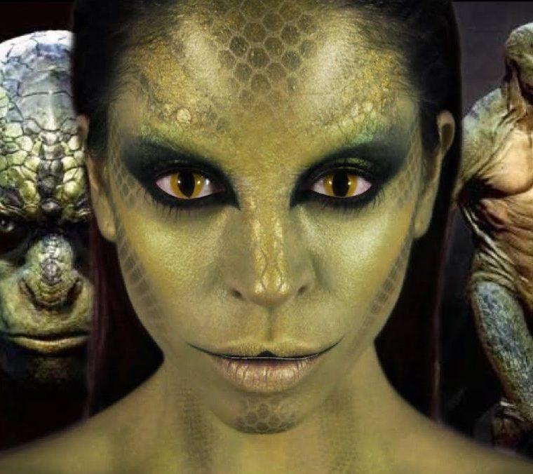 La ciencia ficción describe a los reptilianos como una raza de reptiles con rasgos humanos. (Foto Prensa Libre: UFO SPAIN)