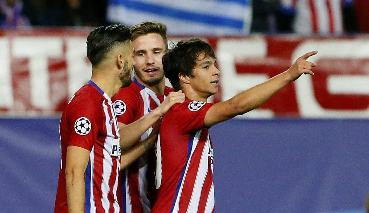 Atlético de Madrid no tiene piedad y golea al Astana en la Liga de Campeones