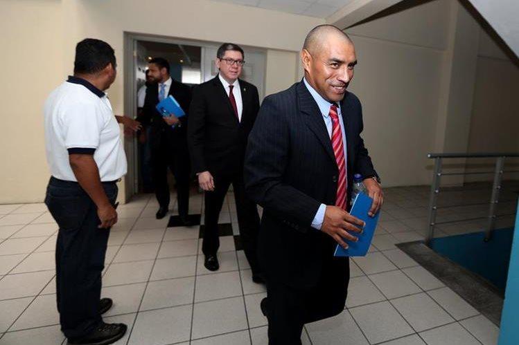 Juan García, dirigente de Antigua GFC se mostró descontentó por el actuar de la Comisión de Árbitros. (Foto Prensa Libre: Hemeroteca PL)