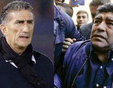 El astro Diego Armando Maradona despotricó contra Bauza e Icardi. (Foto Prensa Libre: Tomada de internet)