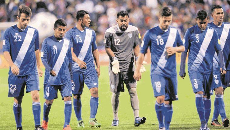 Los jugadores de la Selección Nacional añoran el momento en que puedan representar nuevamente al país. (Foto Prensa Libre: Hemeroteca PL).