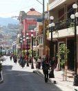 El ordenamiento territorial de Salcajá atrae a los inversionistas de diversos sectores de la economía formal. (Foto Prensa Libre: Hemeroteca PL)