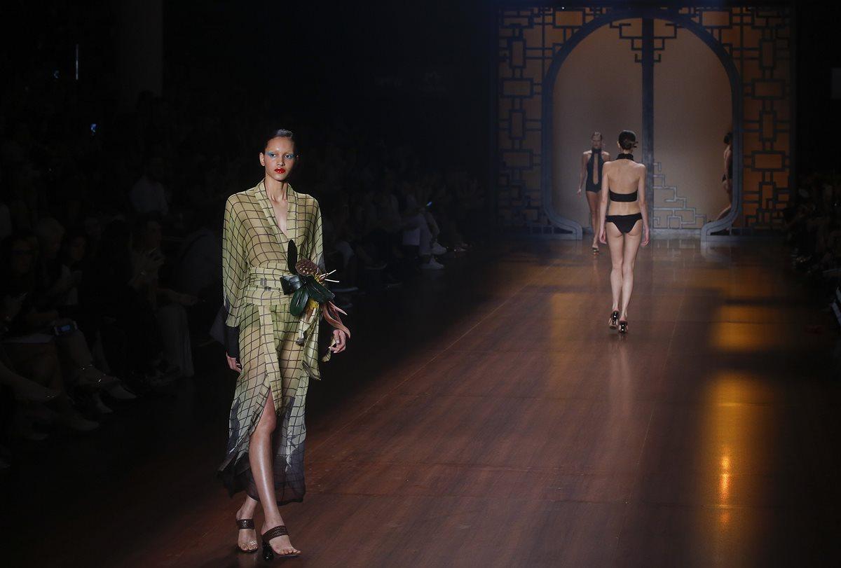 Nuevas marcas impulsan la Semana de la Moda de Sao Paulo