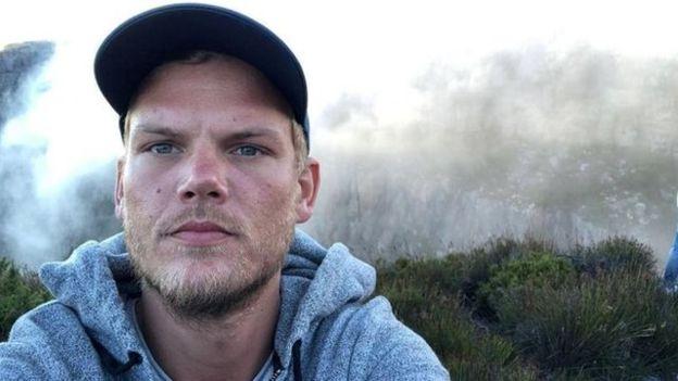 Avicii en Sudáfrica en un selfie que publicó en su cuenta de Instagram en enero.