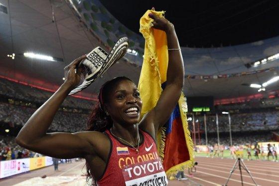 Caterine Ibargüen criticó al Comité Olímpico Colombiano. (Foto Prensa Libre: Tomada de internet)
