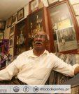 Hoy cumpliría años el mítico Mateo Flores. (Foto Prensa Libre: Hemeroteca PL)