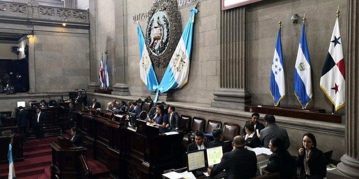 El pleno del Congreso acordó una rebaja de Q20 millones al presupuesto de la PDH para el próximo año en relación al presupuesto vigente. (Foto Prensa Libre: Carlos Álvarez)