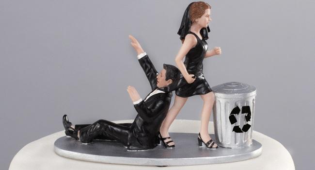 """Los pasteles de """"divorcio"""" son cada vez más comunes para los reposteros. (Foto Prensa Libre: Tomada de Internet)"""