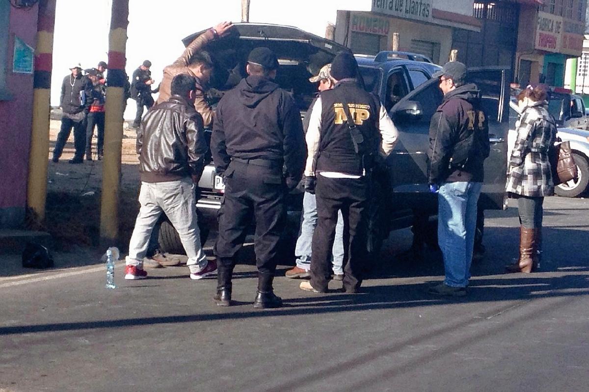 Autoridades no encuentran  droga en vehículos