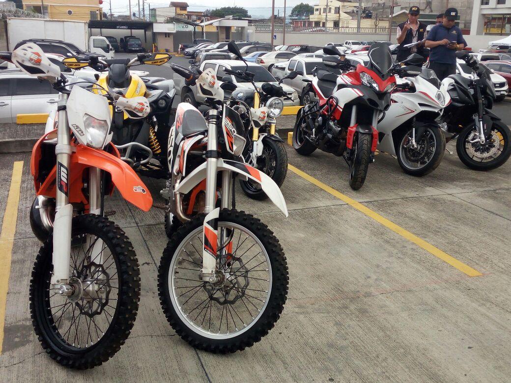 Ducati, BMW y KTM, las motos que el MP le quiere extinguir a Juan Carlos Monzón