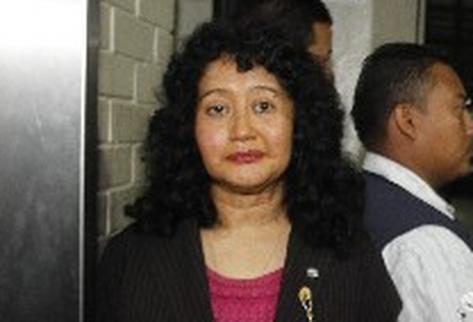 Yassmín Barrios, presidenta del Tribunal A de Mayor Riesgo, dirigió el juicio contra el  ex jefe de Estado de facto Efraín Ríos Montt.