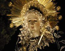 Nuestra Señora de Soledad, Templo de Santo Domingo de la capital. (Foto: Néstor Galicia)