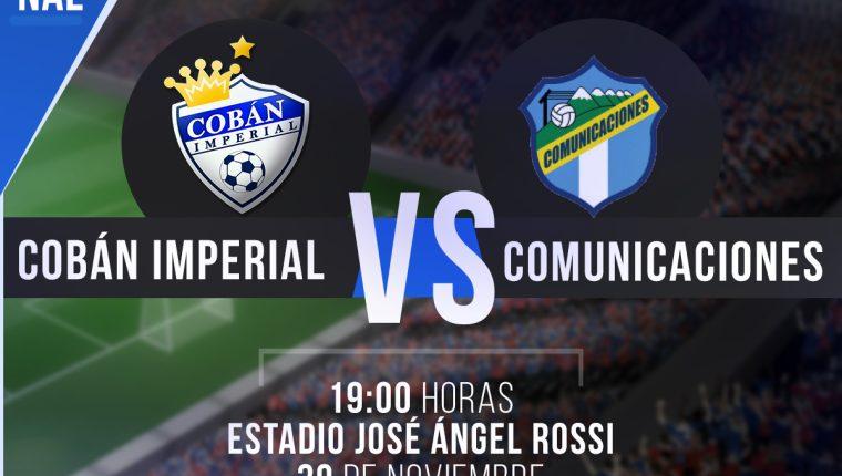 Cobán y Comunicaciones se miden en el primer duelo de acceso a semifinales del Apertura 2016. (Foto Prensa Libre: TodoDeportes)