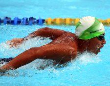 Rubén Granados Amorín es uno de los atletas destacados en la categoría Sub 15. (Foto Prensa libre: Carlos Vicente)
