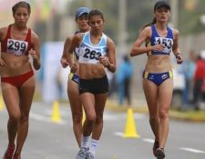 Ortiz terminó la carrera en la tercera casilla, la mexicana María González fue la ganadora del evento. (Foto Prensa Libre: Cortesía www.panamarica2015)