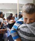 El Gobierno de Estados Unidos ha reunido hasta este martes con sus padres a cuatro niños menores de 5 años. (EFE)