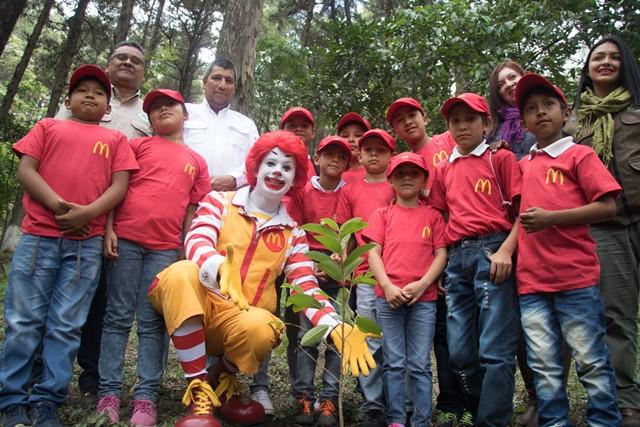 McDonald's festeja el día del Medio Ambiente