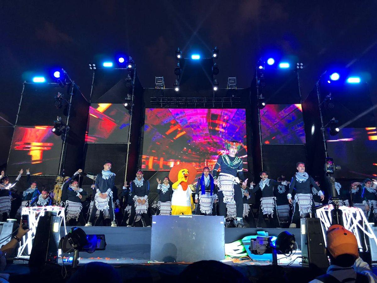 El show empezó desde las 18:00 hrs., en el Campo Marte.