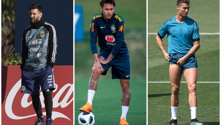 Como en las diferentes competiciones Lionel Messi, Neymar y Cristiano Ronaldo ocupan los primeros puestos de la lista. (Foto Prensa Libre: Agencias)
