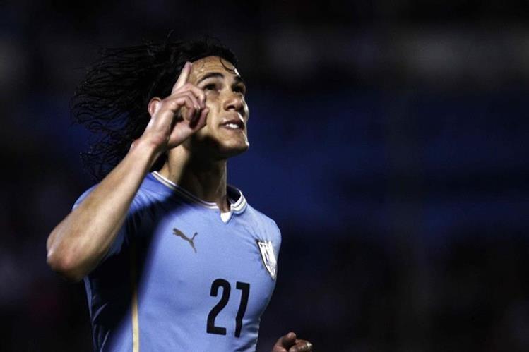 Cavani fue clave en la clasificación de Uruguay para el mundial de Rusia 2018. (Foto Prensa Libre: Hemeroteca PL)