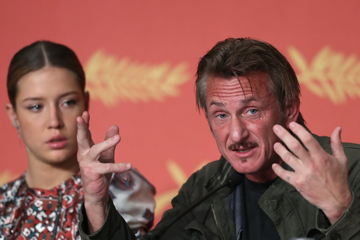 Sean Penn se defiende de críticas en Cannes