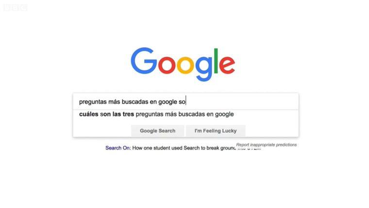 10 cosas sobre Google. (Foto Prensa Libre: BBC News Mundo)