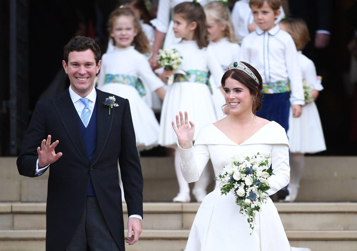 Conozca los detalles de la boda de la princesa Eugenia, nieta de Isabel II