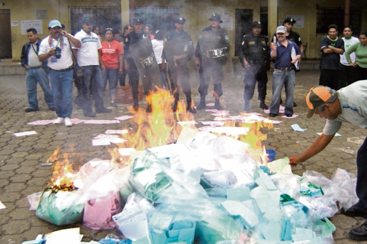 La violencia  electoral es uno de los factores que puede influir en el incremento del abstencionismo.