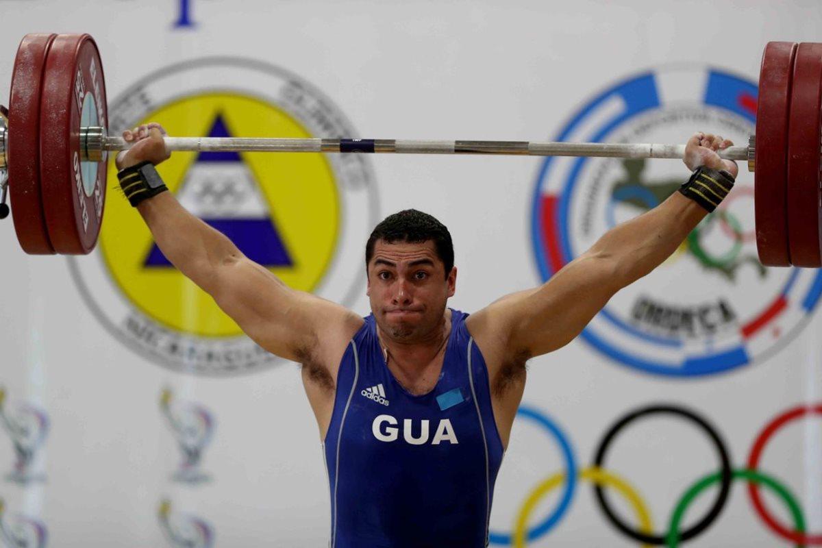 Sony Contreras gana oro en levantamiento de pesas en Managua 2017