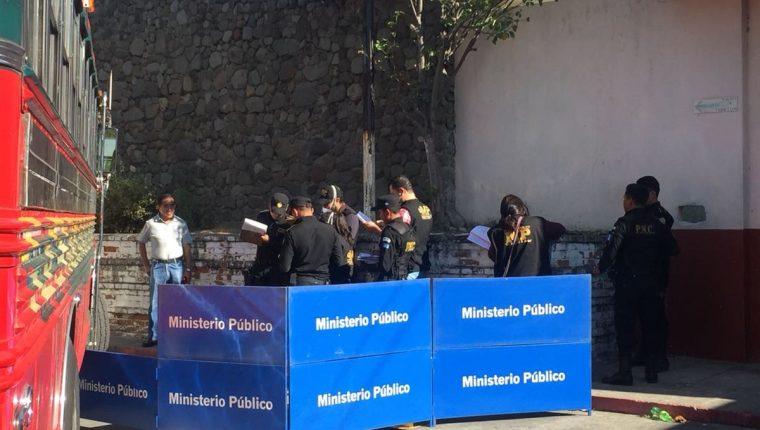 En dos meses 787 personas murieron de forma violenta en Guatemala. (Foto Prensa Libre: Estuardo Paredes)