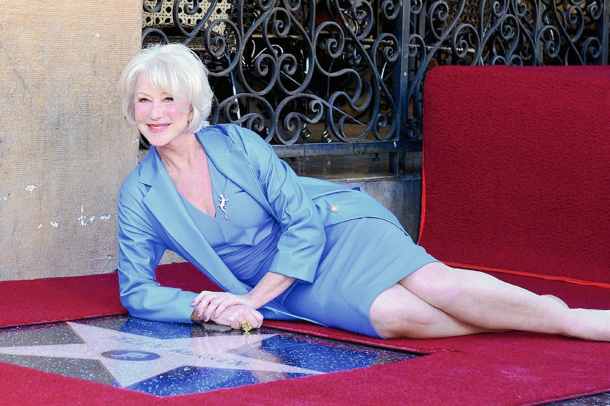 La actriz británica tiene su estrella en el Paseo de la Fama de Hollywood (Foto Prensa LIbre: EFE).