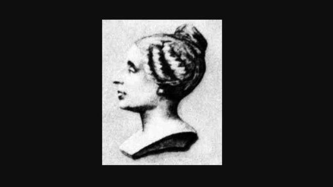 Retrato de Sophie Germain (Dominio público).