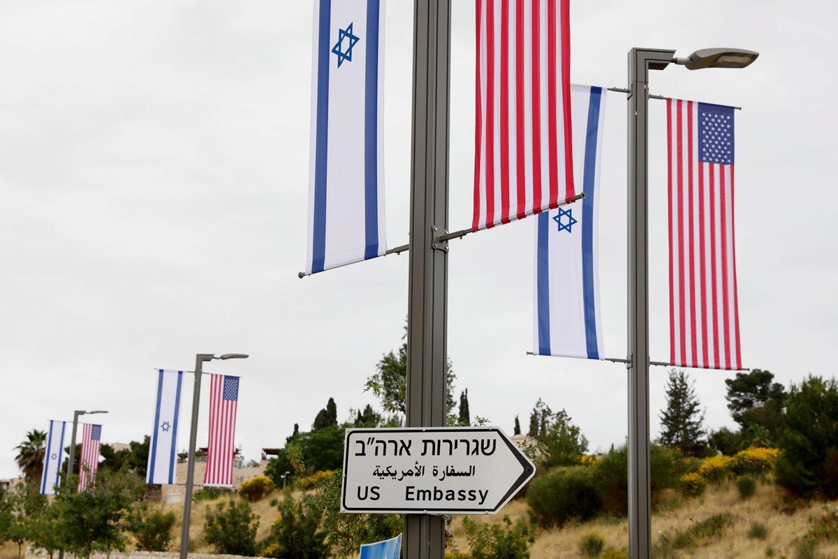 Edificio de nueva embajada de EE. UU. está situado en el barriode Arnona de Jerusalén