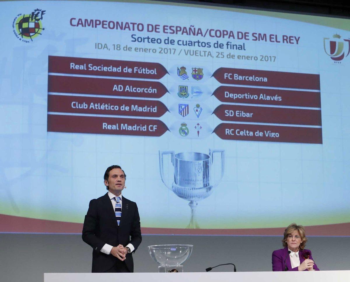 R.Sociedad-Barcelona, Atlético-Eibar y Real Madrid-Celta en cuartos ...