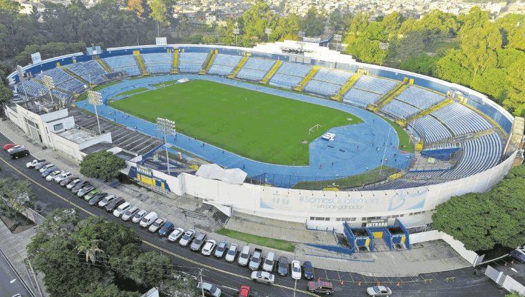 El estadio Doroteo Guamuch Flores será la sede de Guastatoya. (Foto Prensa Libre: Hemeroteca PL)