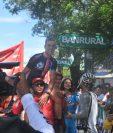 Niels Van Der Pij hace historia al ser el primer holandés en ganar una etapa en la Vuelta a Guatemala. (Foto Prensa Libre: Francisco Sánchez)