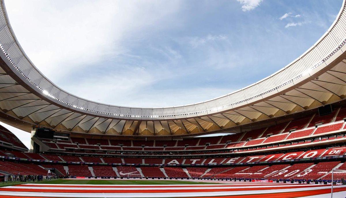 El estadio Wanda Metropolitano será por primera vez sede de una Copa del Rey. (Foto Prensa Libre: AFP)