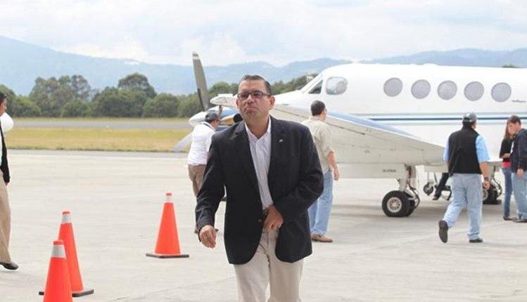 Baldizón goza de libertad en Estados Unidos luego de haber estado preso diez meses. (Foto Prensa Libre: Hemeroteca PL)