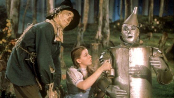 """Según algoritmos matemáticos utilizados por investigadores italianos, """"El mago de Oz"""" es la película más influyente de la historia del cine. PA"""