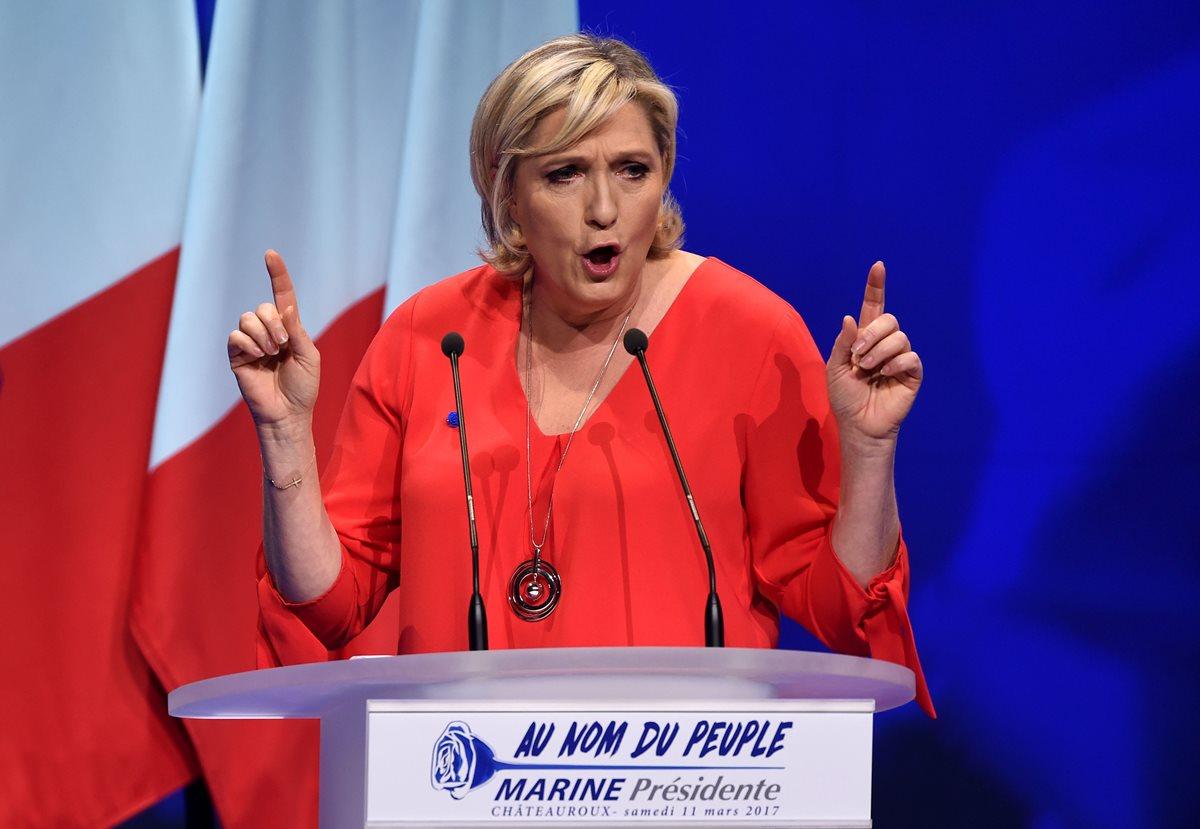 El euro desaparecerá, según Marine Le Pen