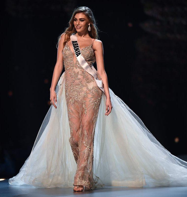Trejsi Sejdini, MIss Albania, es una de las favoritas para llevarse la corona de Miss Universo.