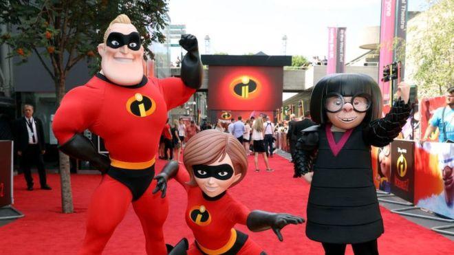 """""""Los Increíbles 2"""" y el """"Hombre hormiga"""" impulsaron las ganancias de Disney. GETTY IMAGES"""
