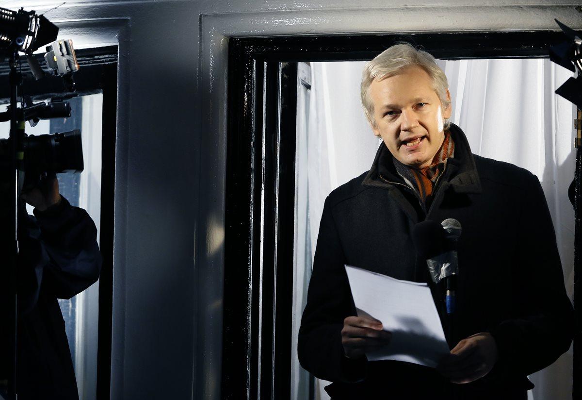 Gobierno británico rechazó dar salvoconducto a Assange