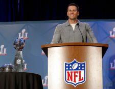 Tom Brady fue el héroe de los Patriots en el Super Bowl que ganaron el fin de semana a los Falcons. (Foto Prensa Libre: AFP)