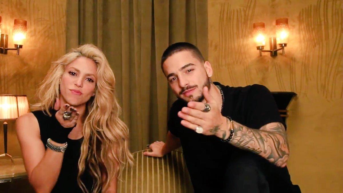 Shakira y Maluma son la pareja colombiana del momento (Foto Prensa Libre: YouTube).