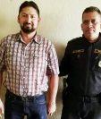 Randy Paul Gómez Pérez fue capturado en la zona 1 de Xela. (Foto Prensa Libre: Carlos Ventura).