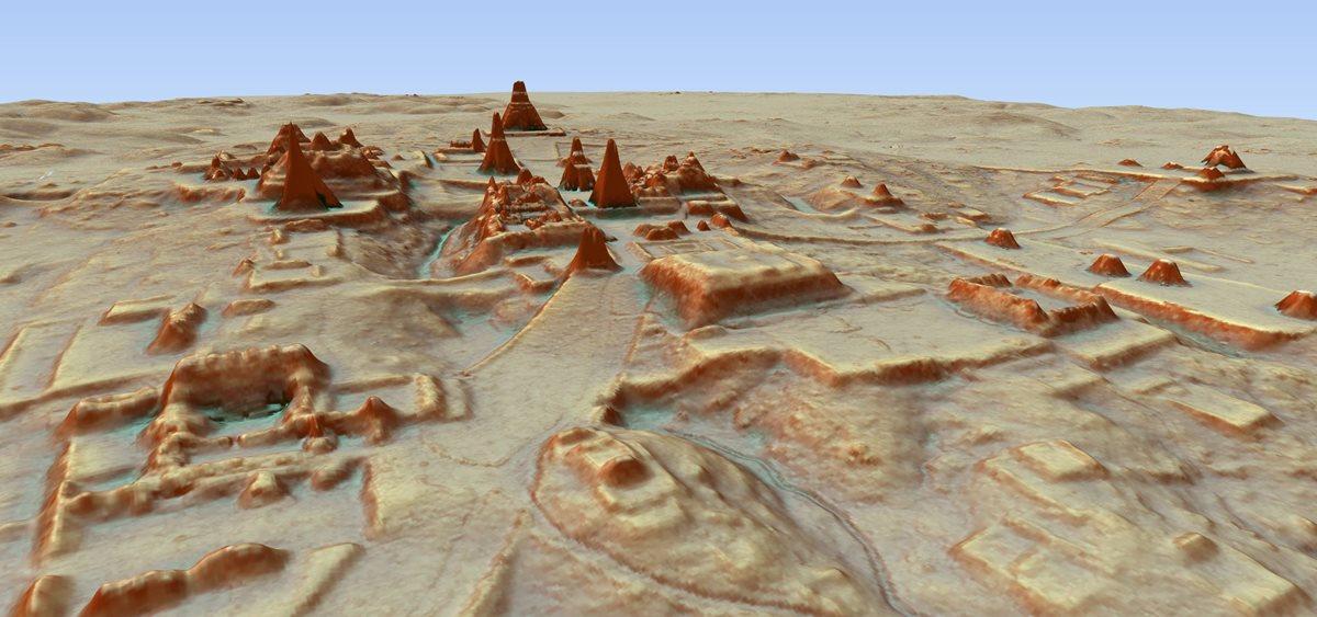 Un mapa 3D revela más de 61 mil estructuras mayas antiguas cubiertas por la vegetación