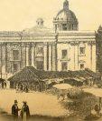 La Catedral no teni?a torres en 1821. (Foto: Hemeroteca PL)