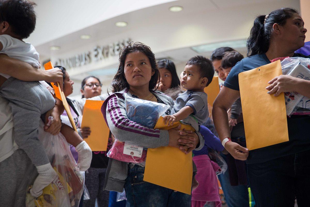 Hasta 24 meses podría llevar la reunificación de menores que fueron separados de sus padres en la frontera con Estados Unidos, según las autoridades estadounidenses. (Foto Prensa Libre: Hemeroteca PL)