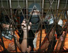 Las cárceles a cargo del Sistema Penitenciario estarían controladas por cuatro grupos de criminales. (Foto Prensa Libre: Hemeroteca PL)